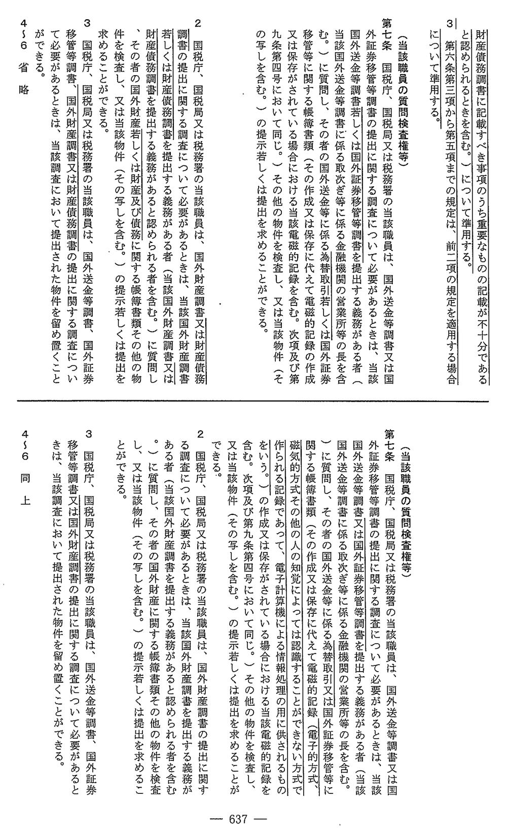 国外送金等調書法3/3